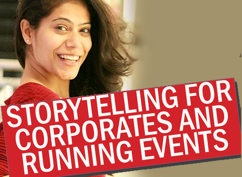 StoryTelling For Corporates And Running Events