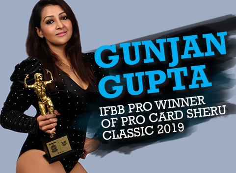 IFBB Pro Winner Of Pro Card Sheru Classic