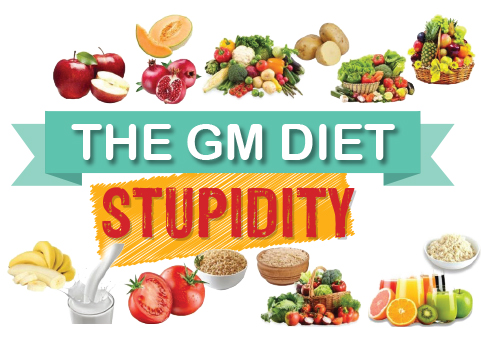 The GM Diet Stupidity