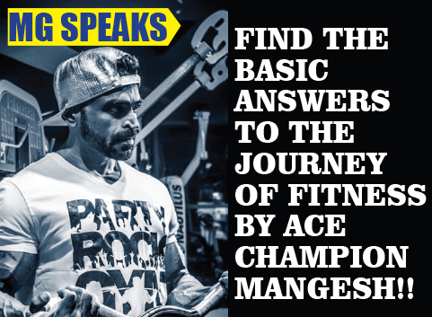 The Journey Of Fitness By ACE Champion Mangesh Gawde