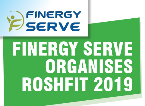 FINERGY SERVE Organises ROSHFIT 2019