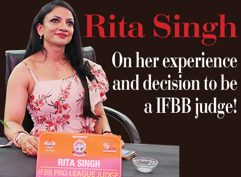 On her experience and decision to be a IFBB judge