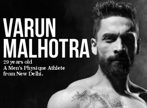 A Men's Physique Athlete from New Delhi
