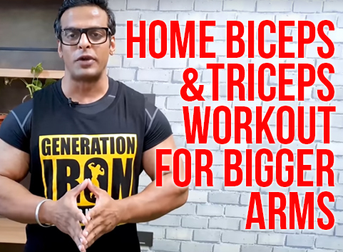 Home Biceps & Triceps Workout for Bigger Arms